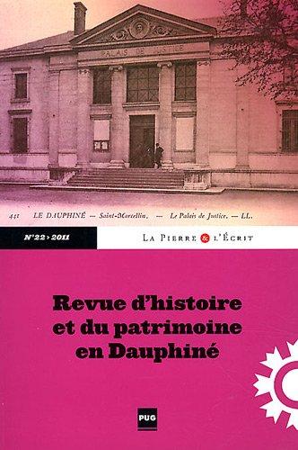 La Pierre et l'Ecrit, N° 22/2011 :