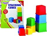 #6: Funskool Giggles Stacking Cubes, Multi Color