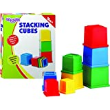 Funskool Giggles Stacking Cubes, Multi Color