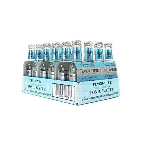 fever tree mediterranean tonic Fever Tree Mediterranean Tonic Water 24 x 0,2 Liter