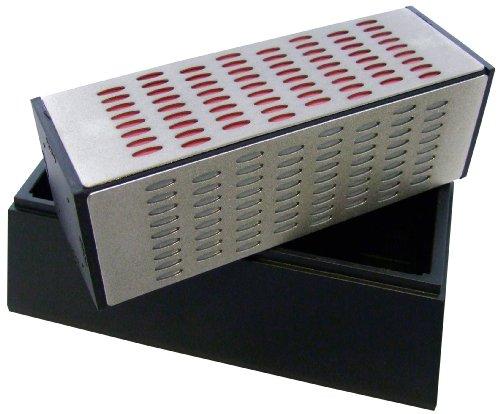 Am-Tech 4 Sided Diamond Sharpening Block, E2557 (Diamond Sharpening Block)