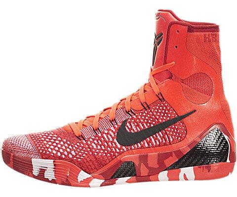 Nike Kobe Ix 9 Strategia Elite Knit Stocking 630847-600 Scarpe Crimson Flyknit