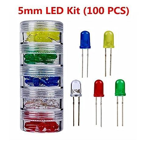 5 mm LED Kit (100 PCS)