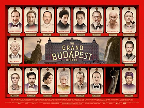 THE GRAND BUDAPEST HOTEL – US Imported Movie Wall Poster Print – 30CM X 43CM Brand New