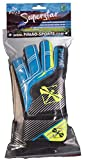PiNAO Sports 38221 Torwart-Handschuhe Super Star, Größe: 7