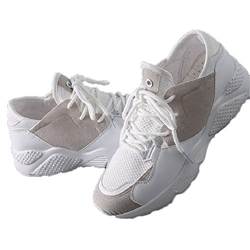 PERFECY& Summer Women Casual Shoes Breathable Sneakers Air -