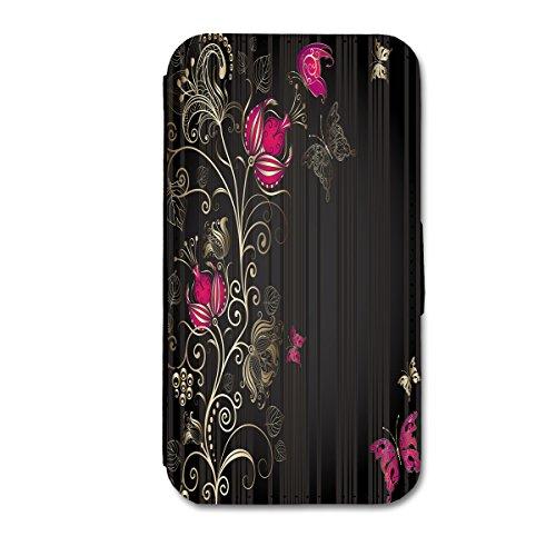 Book Style Flip Handy Tasche Case Schutz Hülle Schale Motiv Foto Etui für Apple iPhone 5C - X12 Design7 Design 2