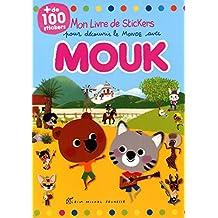 Mon livre stickers pour découvrir le monde avec Mouk