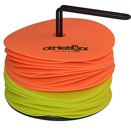 Floormarker 15 cm 24'er Set_orange und gelb von athletikor -