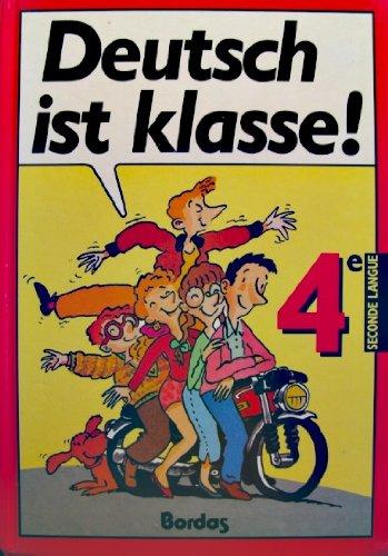 Deutsch ist klasse allemand 4e manuel (1988)                                                  022796