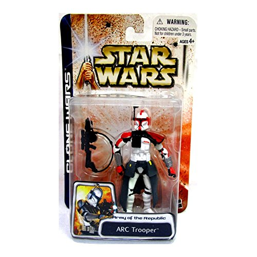 Star Wars: Clone Wars > Arc Trooper (rot) Action Figur