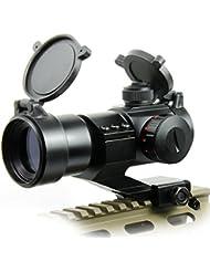 Spike tactique 4 MOA Red Green Dot laser Airsoft Illuminated M3 Lunettes de visée Reflex Dot Sight Stinger PEPR 20mm Chasse