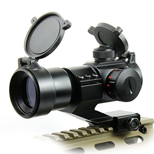 Tactique 4 MOA Red Green Dot Laser Airsoft Illuminated M3 Lunettes de visée Reflex Dot Sight Stinger PEPR 20mm Chasse