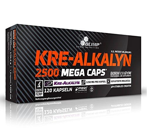 Olimp Kre-Alkalyn 2500 Mega Capsules - Pack of 120 Capsules by OLIMP