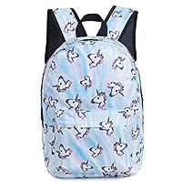 Samanthajane Clothing Unicorn Backpack (42x27x10cm, Unicorn Head Blue)