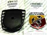 Original Fiat 500 Abarth Emblem inkl. Trägerplatte - 735496477 - 735496478