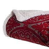 Lavish Home Printed Coral Soft Fleece Sh...
