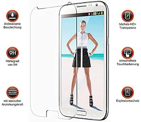 Gforce75® ✔Premium Gehärtetes HD+ Panzerglas für Samsung Galaxy Note 2 N7100 N7105 . Displayschutz . Panzerfolie Sicherheitsglas . Tempered Protection Screen Glass . 0,3mm Hartglas . 9H Ultra Hart . 2.5D round edge NEU