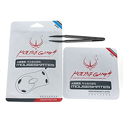 0.28mm Hotline Games Performance Competition Mouse Feet per Steel Xai/Sensei/Raw