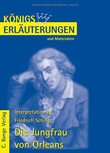 Königs Erläuterungen und Materialien, Bd.2, Die Jungfrau von Orleans