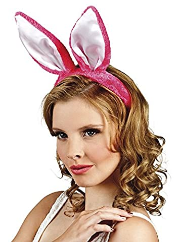 erdbeerclown- Hasen Ohren Hut Haarreif Bunny 4Stk., Pink