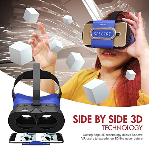 Viotek Spectre Vr Headset - Leichte, Immersive 3D Virtual Reality Brille
