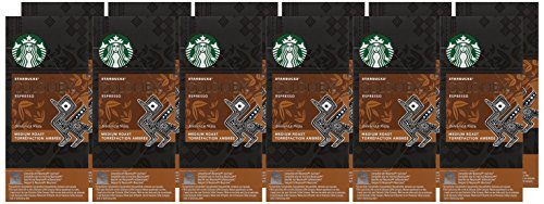 Starbucks Compatible Espresso Colombia Capsules (Pack of 12, Total 120)