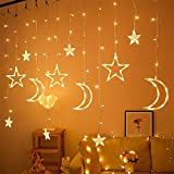Ramadan Light decoration curtain - Star and crescent 2.5M