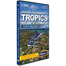 Ground Environment X : Atlantic and Pacific Tropics - world edition for FSX [import anglais]