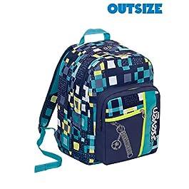52d5e93200 Dettagli e Acquista · Zaino scuola Outsize SEVEN – BUNDLE BOY – Blu Azzurro  – 33 LT – inserti ...