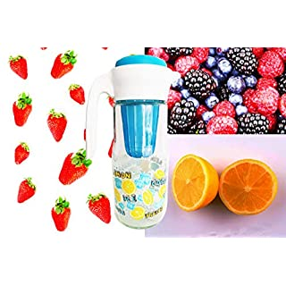 Anitex Glass Jug with Infuser Filter for Fruit and Vegetables 1.4LT