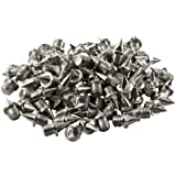 LAUFSTOFF Spike-Nägel Ersatzdornen 6 mm für Leichtathletik-Spikes - 100 Stück Pack