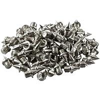 LAUFSTOFF Ersatzdornen / Nägel 6 mm für Leichtathletik Spikes – 100 Stück Pack