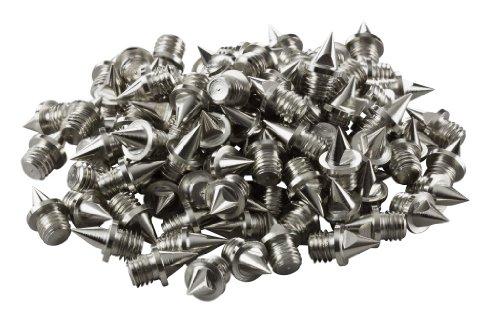 LAUFSTOFF Ersatzdornen / Nägel 6 mm für Leichtathletik Spikes - 100 Stück Pack -