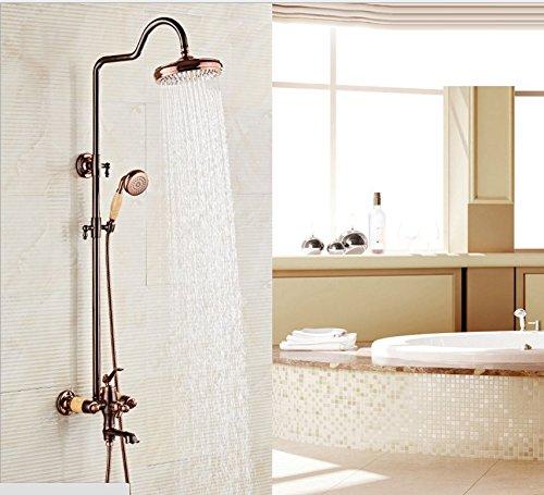 Zxy Home Bad ZXY dusche mobile europa retro - eine drei zentralen kontrolle dusche sprinkler anzug lift kalt - heiß