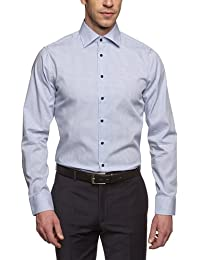 Schwarze Rose Herren Slim Fit Businesshemd KENT