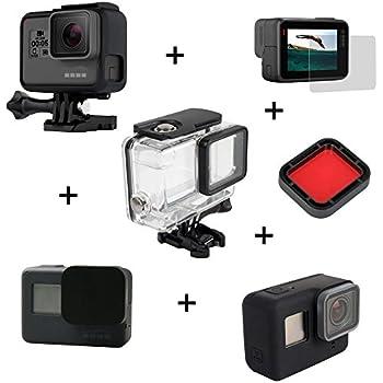 Kingwon 6 en 1 Kit d\u0026apos;accessoires pour GoPro Hero 5 Camera de  protection Effacer