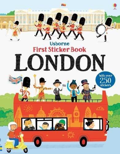 First Sticker Book London (First Sticker Books) por James MacLaine