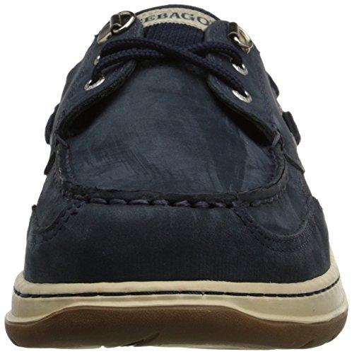 Sebago Mens Clovehitch II Oxford Blu (Navy Nubuck)