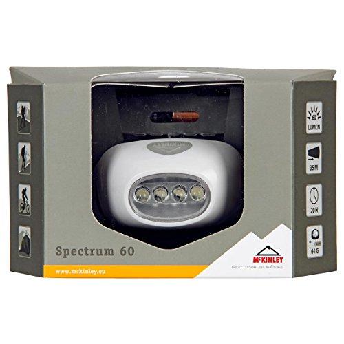 McKINLEY Spectrum 60 Stirnlampe, Weiss/Grün, One Size