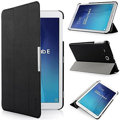 iHarbort® Samsung Galaxy Tab E 9.6 Hülle - Ultra Slim Leder Tasche Hülle Etui Schutzhülle Für Samsung Galaxy Tab E 9.6 Zoll T560 T565 Case Cover Holder(Galaxy Tab E 9.6, (Hülle Für Galaxy Tab 3)