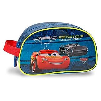 Disney Racing Series Neceser de viaje, 24 cm, 3.36 litros, Azul