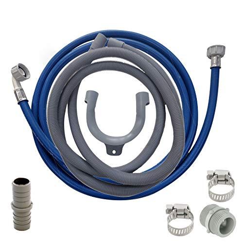 UTP für Hoover Waschmaschine Füllen Sie Wasser & Ablaufschlauch Verlängerung Kit 3,5 m