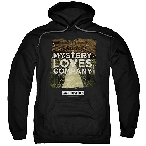2Bhip Warehouse 13 Science Fiction Fantasy TV Mystery Loves Adult Pull-Over Hoodie
