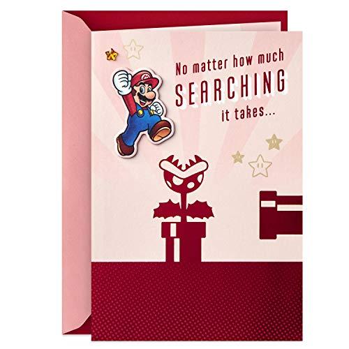 Hallmark Nintendo Super Mario Valentinstagskarte für Signifikant Andere