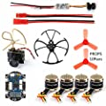 GEHOO DIY Quadcopter Accessory 4 Axis Mini Quadcopter Accessory Brushless Motor 4in1 F3 Flight Controller with ESC for RC Racer Drone with Camera TX