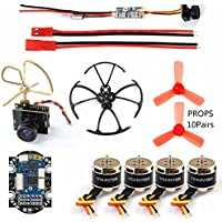 GEHOO DIY Quadcopter Accessory 4 Axis Mini Quadcopter Accessory Brushless Motor 4in1 F3 Flight Controller with ESC for RC Racer Drone with Camera TX - Compare prices on radiocontrollers.eu