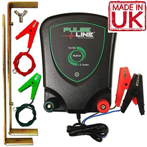 Électrificateur de clôture électrique Pulseline 12V Plb13