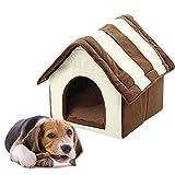 Snow Island Pet Häuser Hütten, Häuser Hunde Katze Betten Tragbarer waschbar herausnehmbarer Pet Höhle Sofa