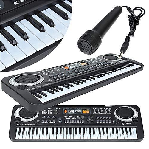 Shanyaid Buen Tono Mini Piano Electrónico Multifuncional...